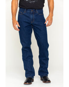 Gibson Men's Bonanza Prewashed Regular Fit Denim Jeans , Dark Blue, hi-res