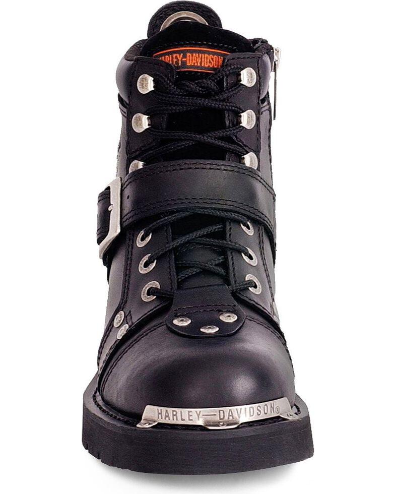Harley Davidson Brake buckle boots, Black, hi-res