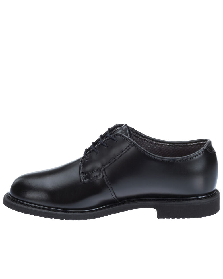 Bates Women's Lites Balck Oxford Shoes - Round Toe, Black, hi-res