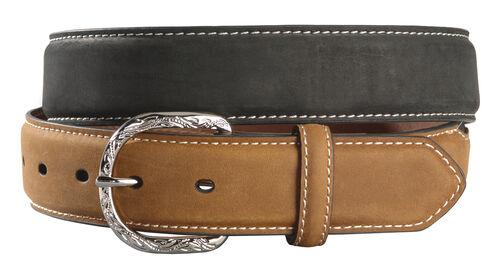 Nocona Leather Belt, Black, hi-res