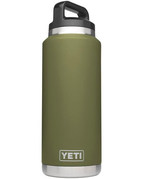 Yeti Olive Green 36 oz. Bottle Rambler , , hi-res