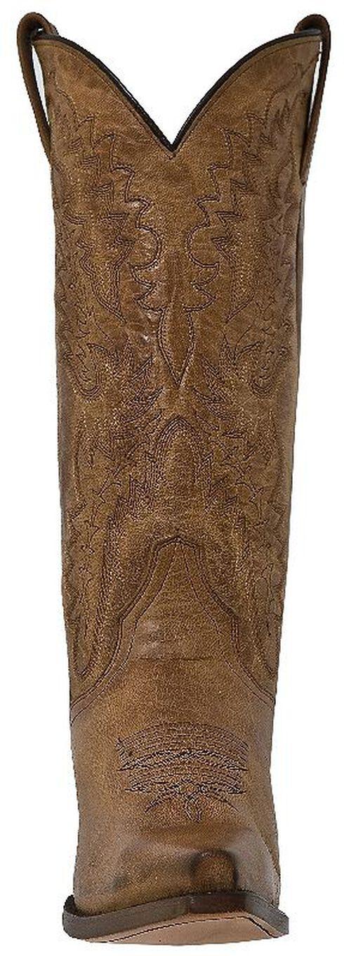 Dan Post Mad Cat Cowgirl Boots - Snip Toe, Tan, hi-res