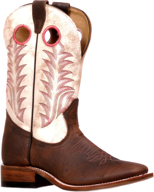 Boulet Women's Challenger Rough Rider Sonora Cowgirl Boots - Square Toe, , hi-res