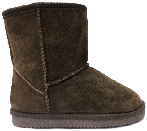 Lamo Footwear Kid's Classic Boots, Chocolate, hi-res
