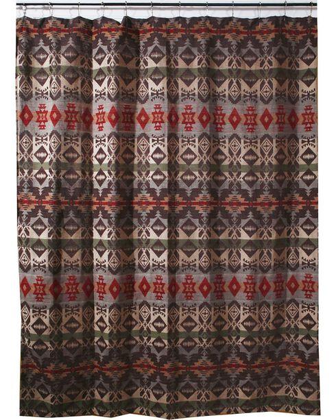 Carstens Montana Shower Curtain, Multi, hi-res