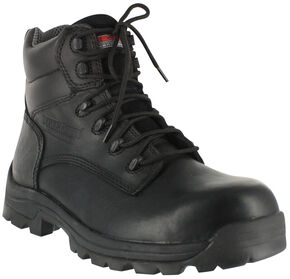 American Worker Men's Stealth Work Boots - Composite Toe, Black, hi-res
