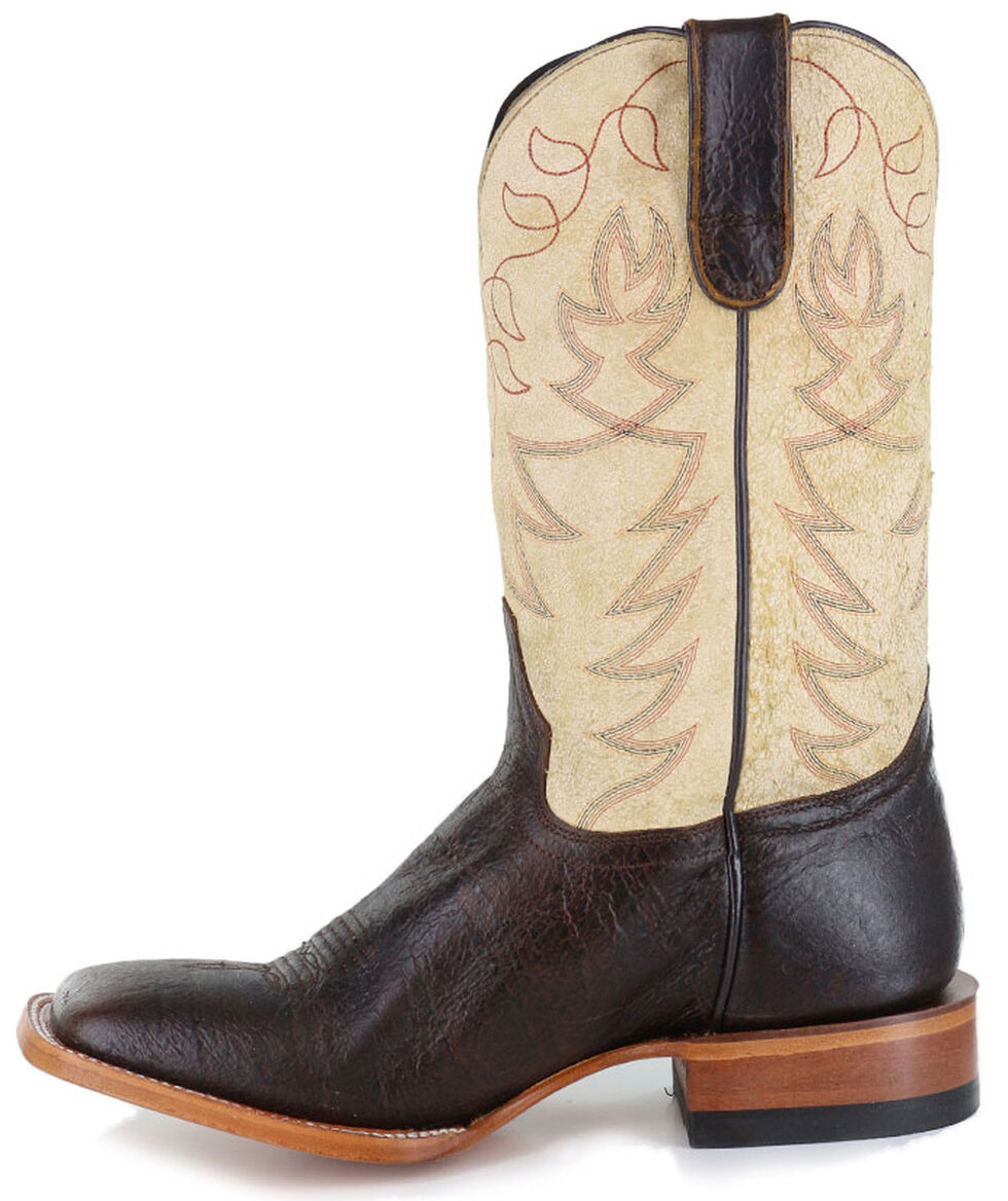 Cody James Men's Krakatoa Arena Western Boots - Wide Square Toe, Brown, hi-res