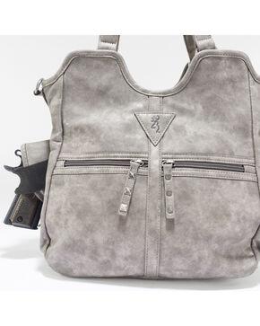 Browning Women's Arial Conceal Carry Lockable Handbag , Grey, hi-res