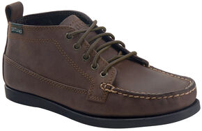 Eastland Men's Bomber Brown Seneca Camp Moc Chukka Boots, Brown, hi-res