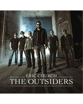 Eric Church:  The Outsiders, No Color, hi-res