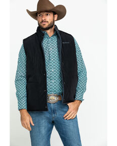Ariat Men's Lariat Reversible Vest , Black, hi-res
