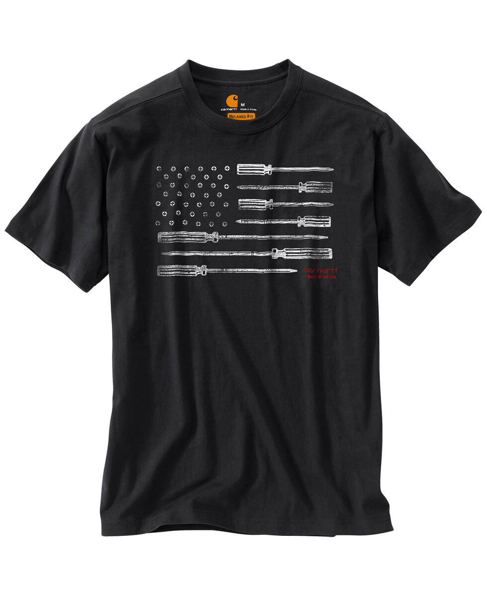 Carhartt Men's Lubbock Graphic Tool Flag T-Shirt, , hi-res