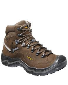 Keen Men's Durand II Waterproof Work Boots - Soft Toe, Brown, hi-res