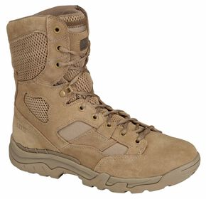 "5.11 Tactical Men's Taclite 8"" Coyote Boots, Coyote Brown, hi-res"