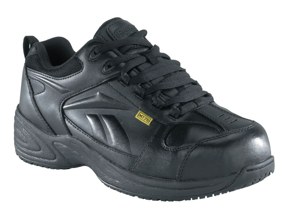Reebok Men's Centose Internal Met Guard Work Shoes, Black, hi-res