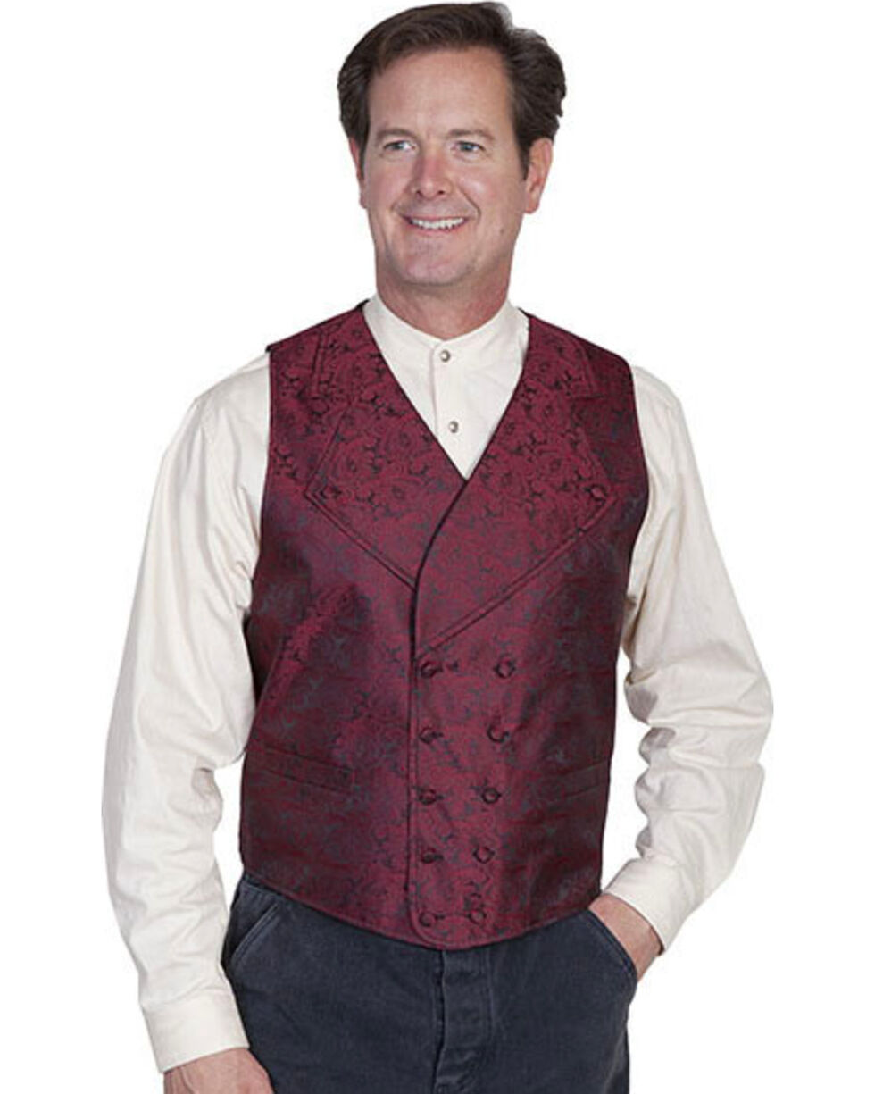 Rangewear by Scully Wide Notched Lapel Vest - Big Sizes (3XL - 4XL), , hi-res