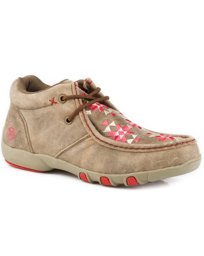 2f6936185202 Roper Women s Tan High Country Azteka Shoes