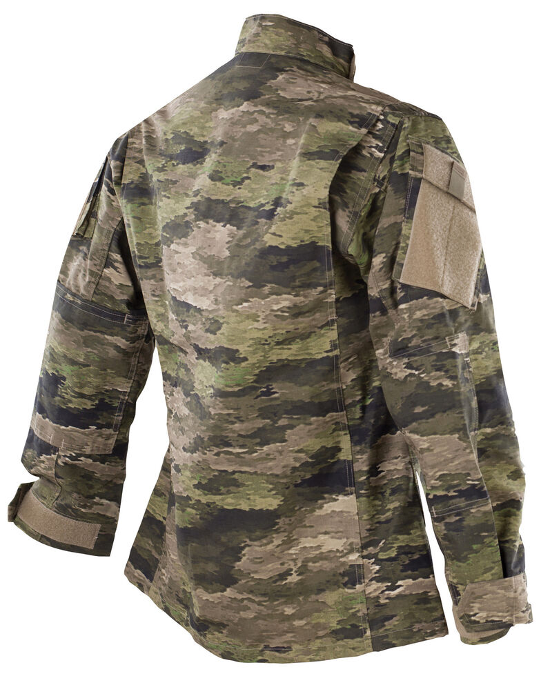 Tru-Spec Men's Camo Urban Force TRU Short Sleeve Work Shirt , Camouflage, hi-res