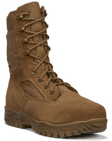Belleville Men's C312 Hot Weather Tactical Boots - Steel Toe, Coyote, hi-res