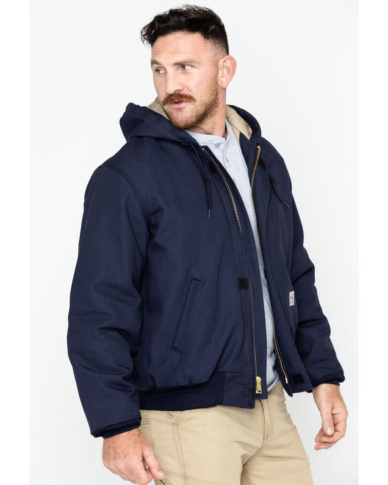 Carhartt Flame Resistant Work Jacket, Navy, hi-res