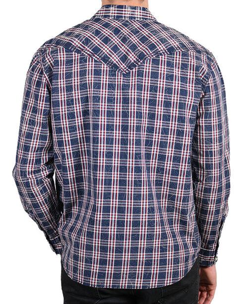 Moonshine Spirit Men's Humbolt Long Sleeve Shirt , Navy, hi-res
