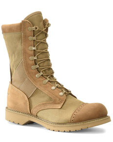 Corcoran Men's Marauder Coyote Military Boots - Soft Toe, Tan, hi-res