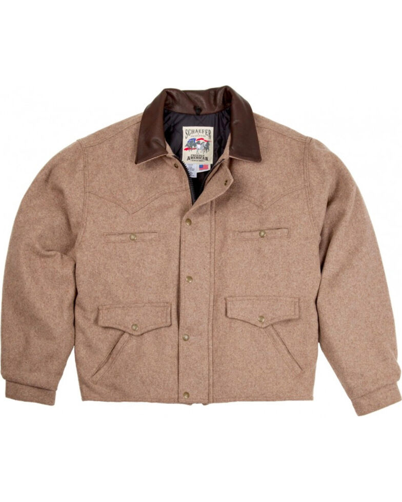 Schaefer Men's 570 Summit Wool Jacket, Taupe, hi-res