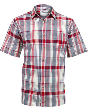 Mountain Khakis Men's Red Tomahawk Madras Shirt , Red, hi-res