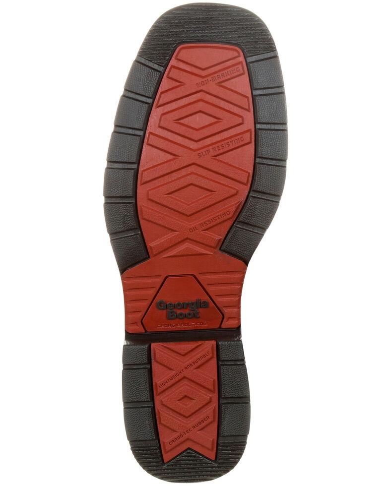 1c88a100d75 Georgia Boot Men's Carbo-Tec LT Waterproof Western Work Boots - Square Toe