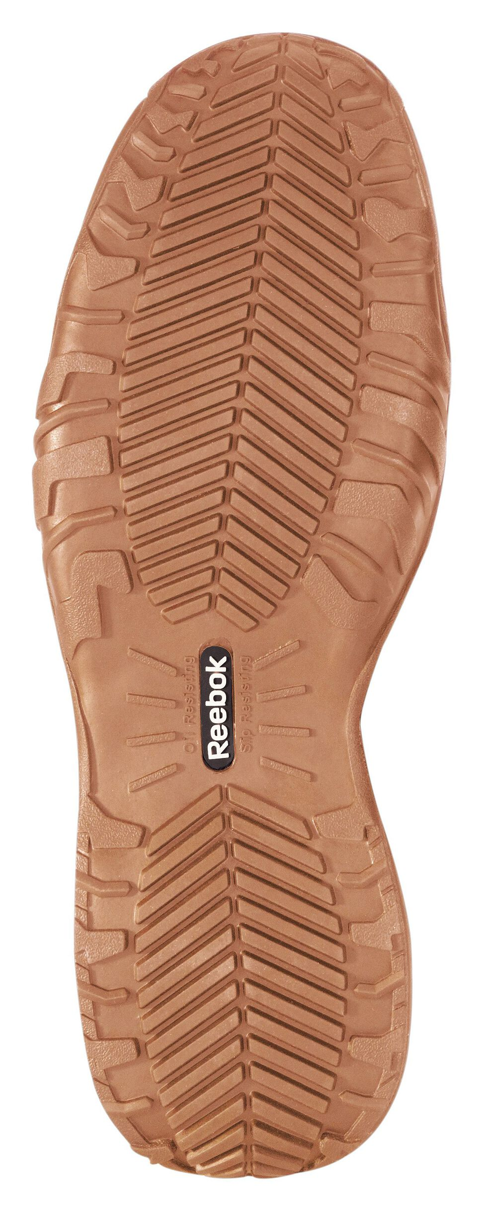 Reebok Men's Bema Work Shoes - Composite Toe, Brown, hi-res