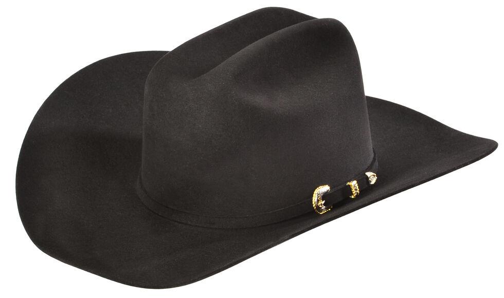6ba9a29a1f578 Serratelli Men s Black 10X Fur Felt Austin Cowboy Hat