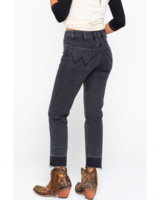 Wrangler Modern Women's High Rise Heritage Crop Jeans, Black, hi-res