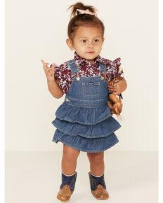 Wrangler Infant Girls' Blue Denim Skirtall , Blue, hi-res