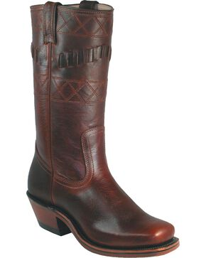 Boulet Grizzly Mountain Motorcycle Boots - Square Toe, Brown, hi-res