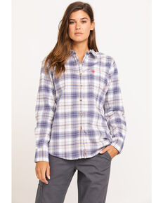 Ariat Women's Foraker Long Sleeve FR Work Shirt, Multi, hi-res