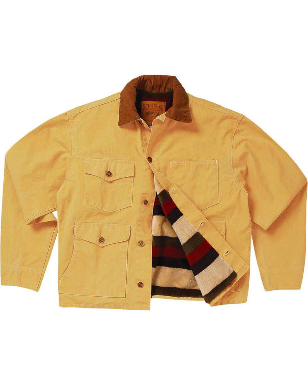 Schaefer Outfitter Men's Suntan Blanket Lined Vintage Brush Jacket , Tan, hi-res
