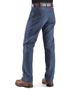 Wrangler Men's Flame Resistant FR 47 Lightweight Regular Work Jeans, Denim, hi-res
