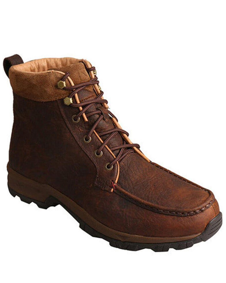 Twisted X Men's Insulated Casual Hiker Boots - Composite Toe, Dark Brown, hi-res