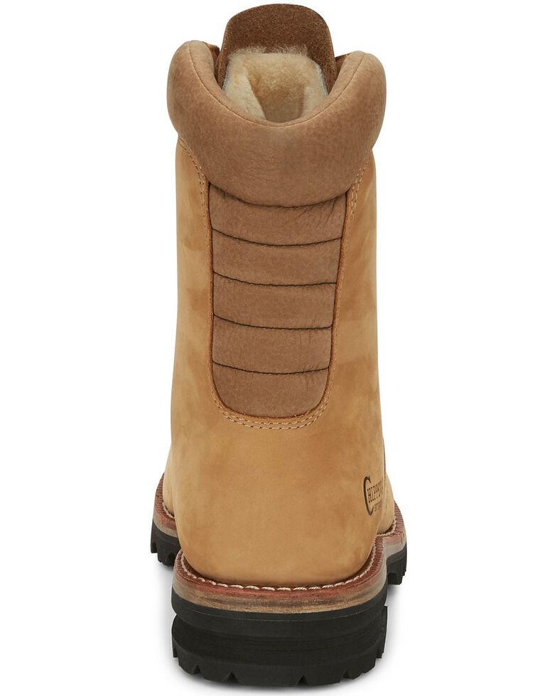 Chippewa Men's Weddell Golden Wateproof Work Boots - Soft Toe, Tan, hi-res