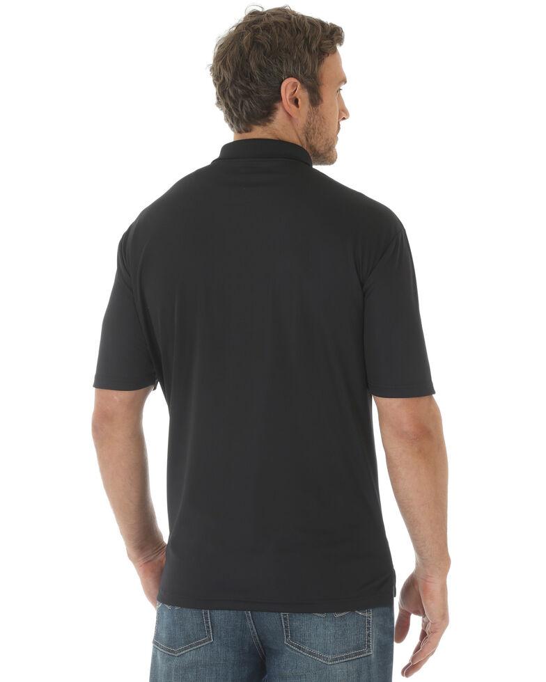 Wrangler Men's Black 20X Advanced Comfort Short Sleeve Polo Shirt , Black, hi-res