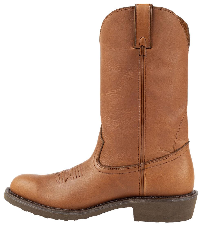 Durango Men's Farm N' Ranch Tan Western Boots - Round Toe, Tan, hi-res