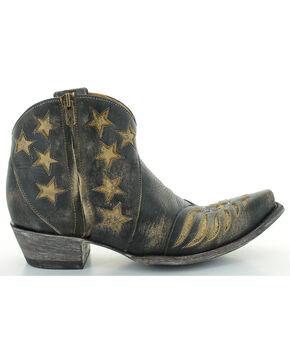 Old Gringo Women's United Patriotic Short Boots - Snip Toe , Beige/khaki, hi-res