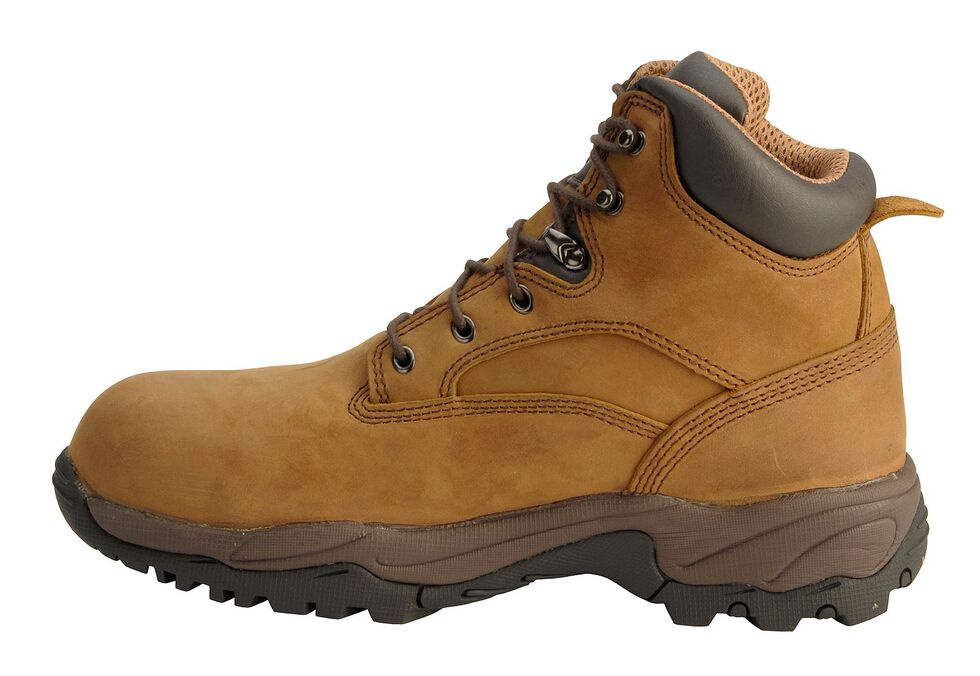 "Chippewa Waterproof Bay Apache 6"" Lace-Up Work Boots - Round Toe, Bay Apache, hi-res"