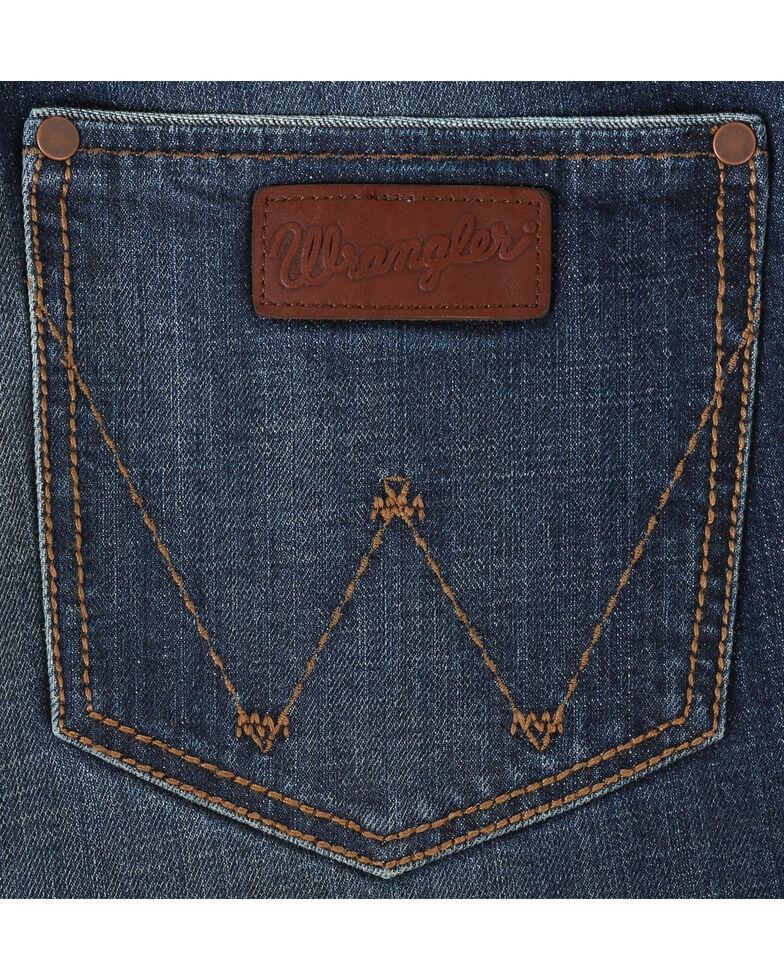 Wrangler Retro Men's Relaxed Fit Boot Cut Jeans, Indigo, hi-res
