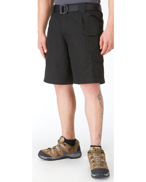 5.11 Tactical Cotton Shorts, Black, hi-res