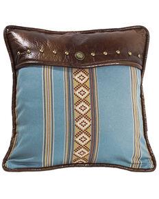 HiEnd Accents Ruidoso Blue Striped Throw Pillow, Multi, hi-res