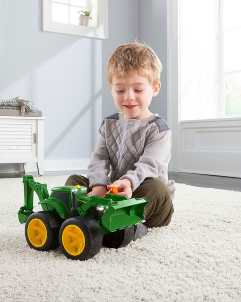 John Deere Monster Treads 2X Scoop Tractor, No Color, hi-res