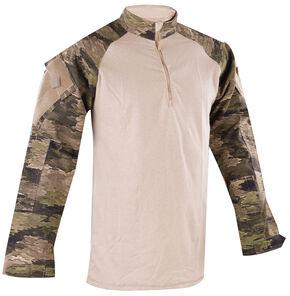Tru-Spec Men's Camo Urban Force 1/4 Zip TRU Shirt , Camouflage, hi-res