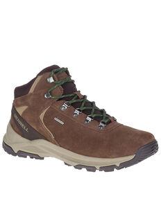 Merrell Men's Erie Waterproof Hiking Boots - Soft Toe, Brown, hi-res