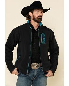 Cinch Men's Black Solid Concealed Carry Bonded Jacket , Black, hi-res